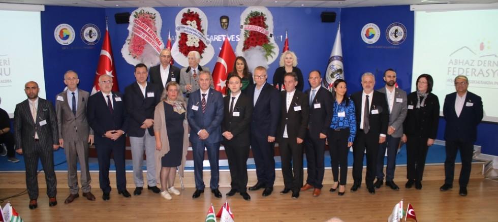 Abhaz Dernekleri Federasyonu'nun  Genel Kurulu Sakarya'da yapıldı…