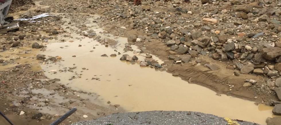 Abhazların Yoğun Olarak Yaşadığı Köylerde Sel Felaketi Yaşandı.