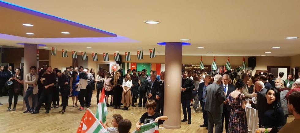 Abhazya Cumhuriyeti Ayaayra 25. Yıl etkinlikleri İstanbul'da Kutlandı.