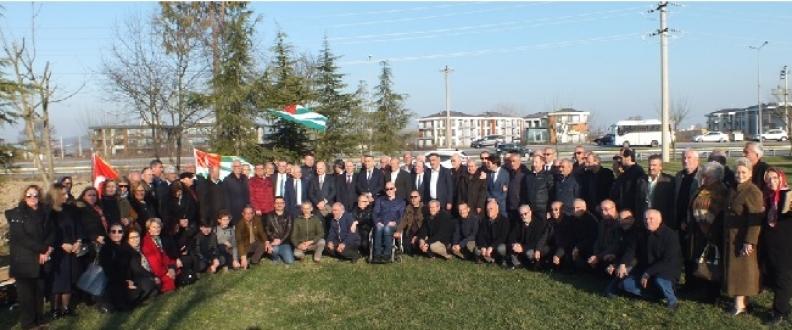 Abhazya Cumhuriyeti Başbakanı Valeri Bganba Sakarya'ya geldi