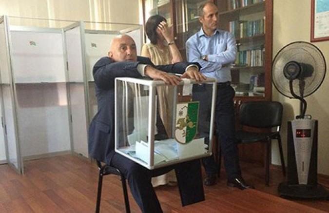 Abhazya Devlet Başkanlığı Seçimleri Abhazya ve Moskova'da Yapılacak