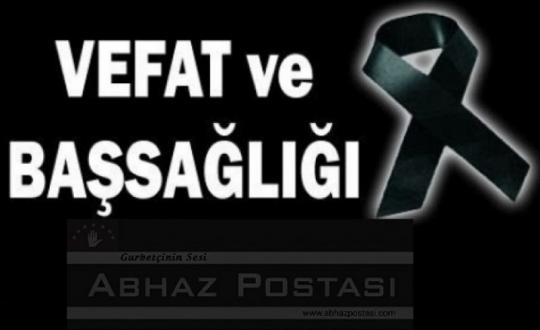 ATSANBA ŞEREF SANBAY VEFAT ETTİ.