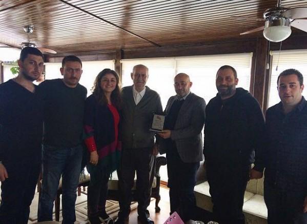 Bilecik Abhaz Derneği Yönetim Kurulu Apusha Davut Aynur'u Ziyaret Etti.