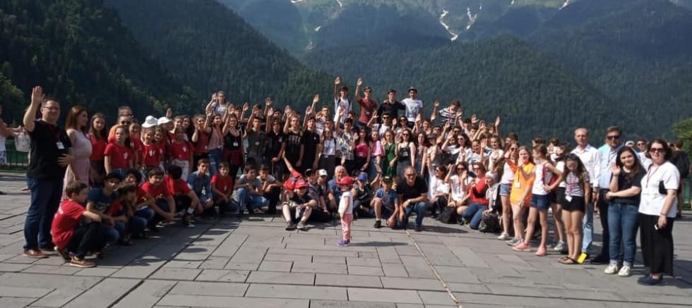 Çocuklarımız Abhazya'dan Döndü