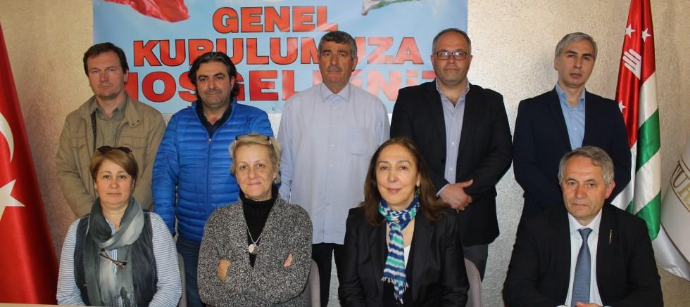 Düzce Abhaz Kültür Derneği Olağan Genel Kurul Yaptı.