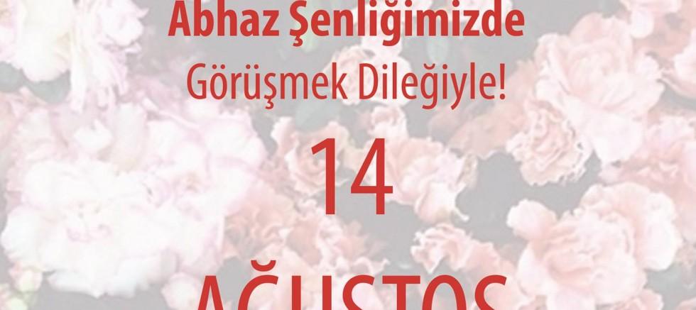 II.Ayzara Abhaz Şenliği 14 Ağustos 2016 da