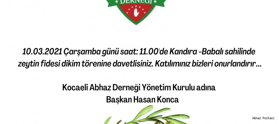 Kocaeli Abhaz Derneği Başkanı Sayın Hasan Konca, bugün saat 19.30 da canlı yayında.