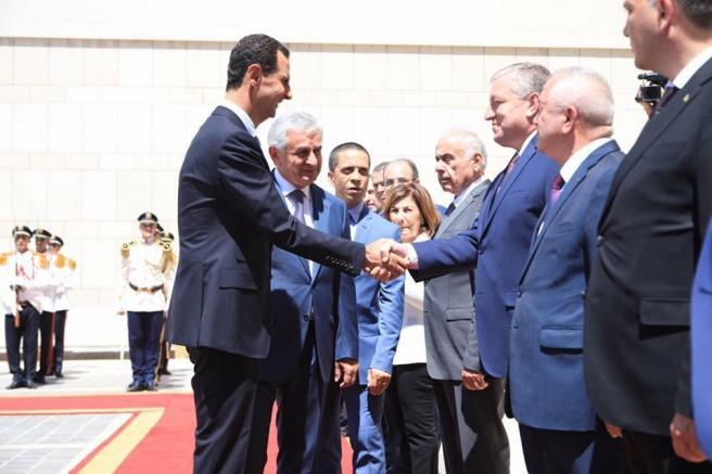 R.Hacımba Suriye Arap Cumhuriyetini Ziyaret Etti.