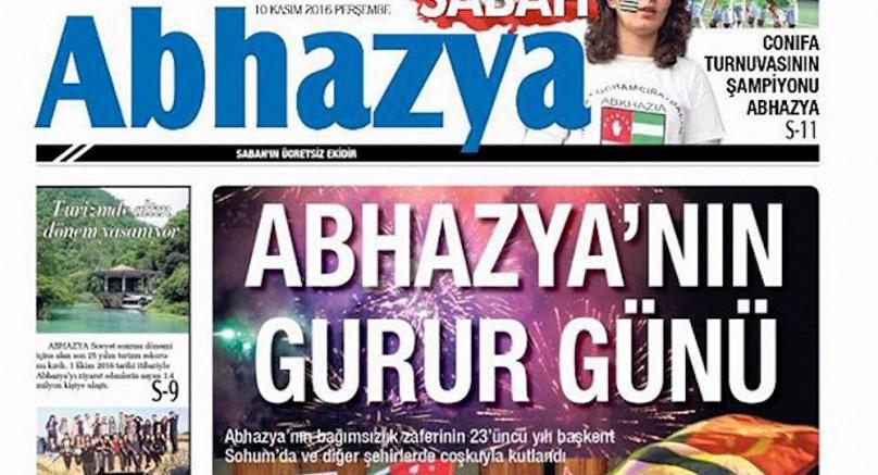 Sabah'ın Abhazya eki, Türkiye ve Gürcistan arasında gerilime yol açtı