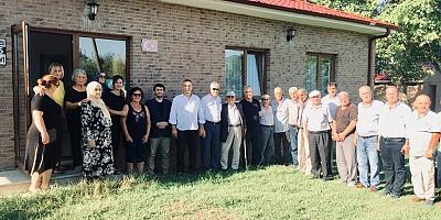 Abhazya Cumhuriyeti Geri Dönüş Bakanı Sayın Beslan  Dbar Afet Bölgesinde