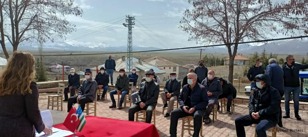 Tufanbeyli Abaza Kültür Derneği Olağan Kongresini Yaptı